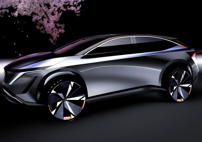 Tokyo 2019: Nissan Ariya Concept – crossover elektrik sepenuhnya tunjuk halatuju rekaan & teknologi baharu Image #1034749