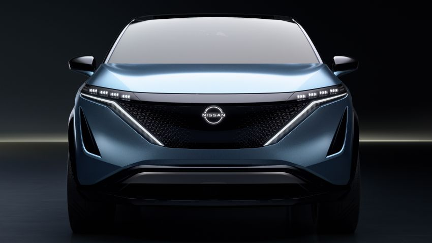 Tokyo 2019: Nissan Ariya Concept officially debuts Image #1033608