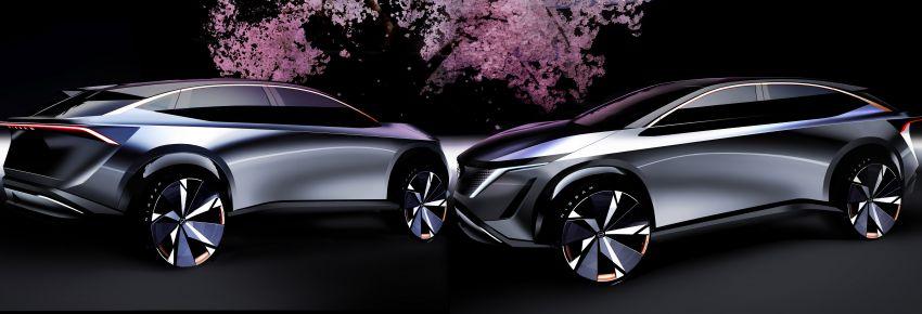 Tokyo 2019: Nissan Ariya Concept – crossover elektrik sepenuhnya tunjuk halatuju rekaan & teknologi baharu Image #1034751