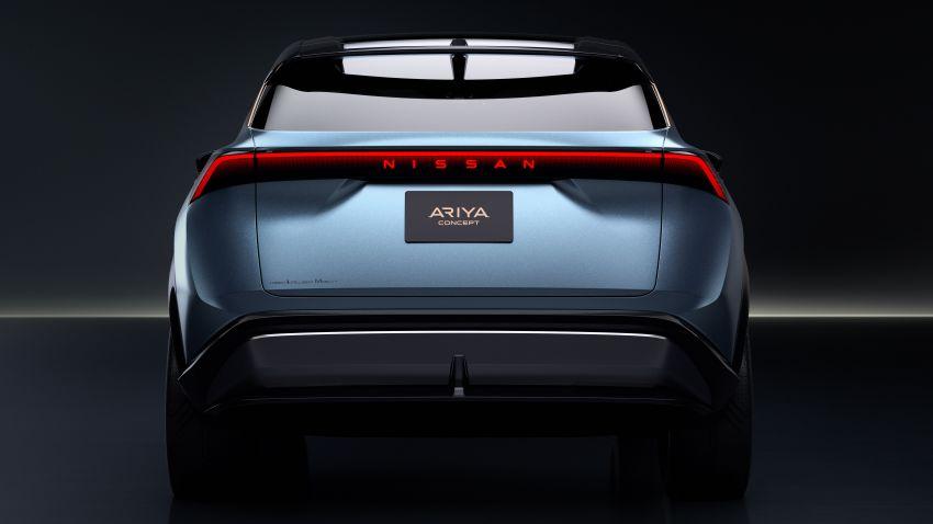 Tokyo 2019: Nissan Ariya Concept – crossover elektrik sepenuhnya tunjuk halatuju rekaan & teknologi baharu Image #1034717