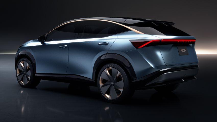 Tokyo 2019: Nissan Ariya Concept – crossover elektrik sepenuhnya tunjuk halatuju rekaan & teknologi baharu Image #1034718