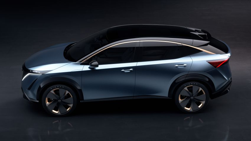 Tokyo 2019: Nissan Ariya Concept – crossover elektrik sepenuhnya tunjuk halatuju rekaan & teknologi baharu Image #1034720