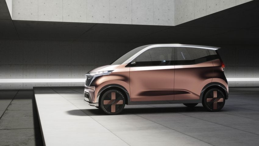 Nissan IMk Concept unveiled for Tokyo Motor Show Image #1023468