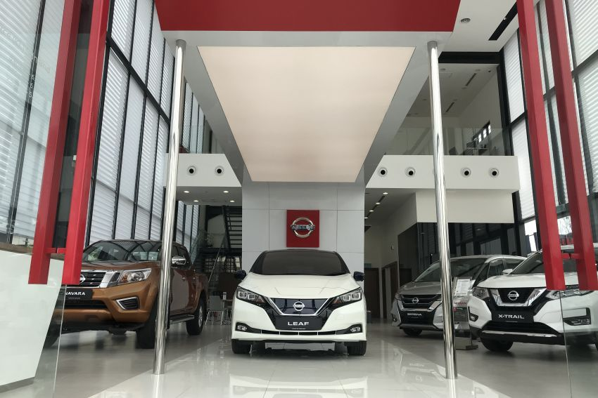 ETCM launches new Nissan showroom with global CI Image #1030124