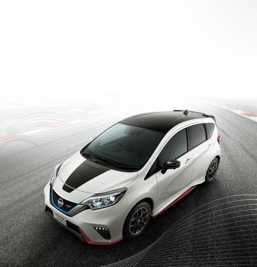 Nissan Note Nismo Black Limited Edition revealed Image #1028287