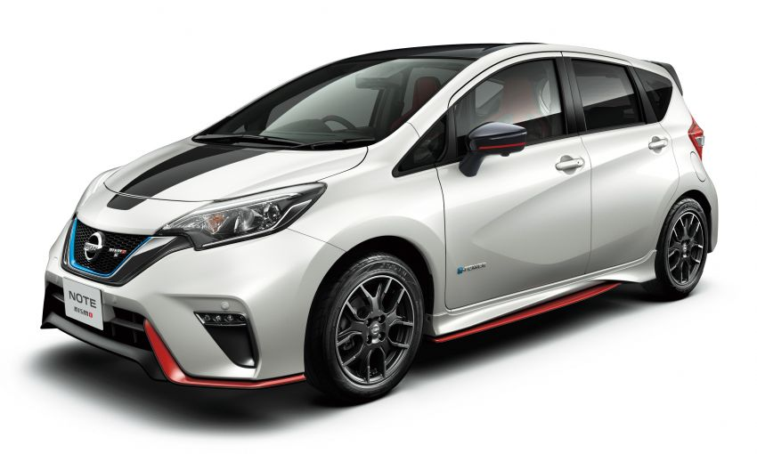 Nissan Note Nismo Black Limited Edition revealed Image #1028289