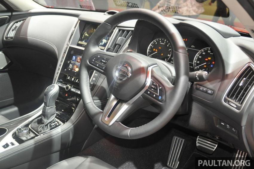 Tokyo 2019: Nissan Skyline GT V37 Hybrid <em>facelift</em> 2019 – 'R35 4-Pintu', 3.5L V6 hibrid berkuasa 306 PS/350 Nm Image #1035833
