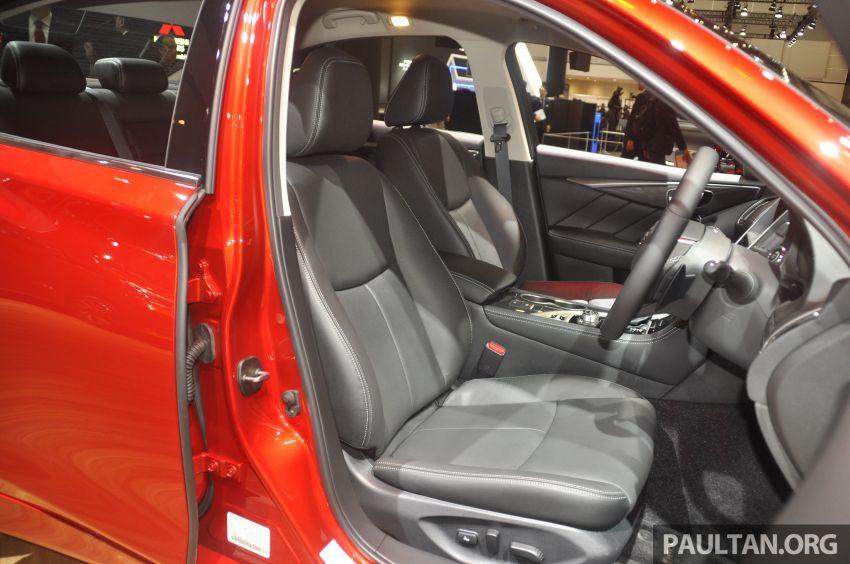 Tokyo 2019: Nissan Skyline GT V37 Hybrid <em>facelift</em> 2019 – 'R35 4-Pintu', 3.5L V6 hibrid berkuasa 306 PS/350 Nm Image #1035835