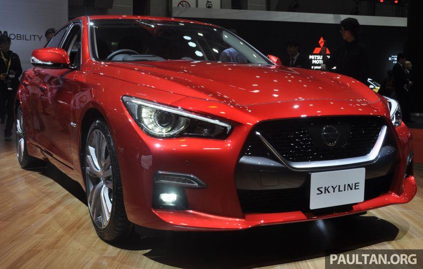 Tokyo 2019: Nissan Skyline GT V37 Hybrid <em>facelift</em> 2019 – 'R35 4-Pintu', 3.5L V6 hibrid berkuasa 306 PS/350 Nm Image #1035836