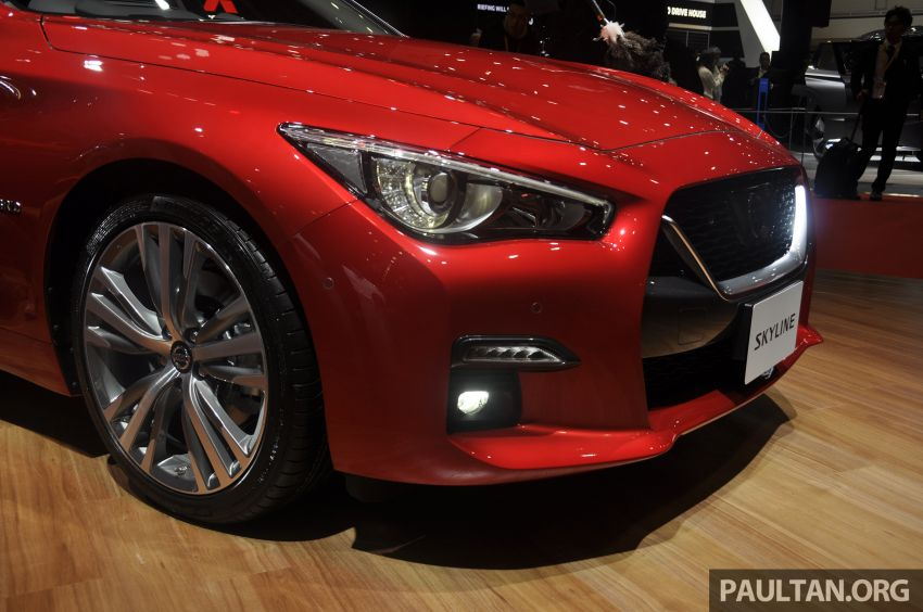 Tokyo 2019: Nissan Skyline GT V37 Hybrid <em>facelift</em> 2019 – 'R35 4-Pintu', 3.5L V6 hibrid berkuasa 306 PS/350 Nm Image #1035838
