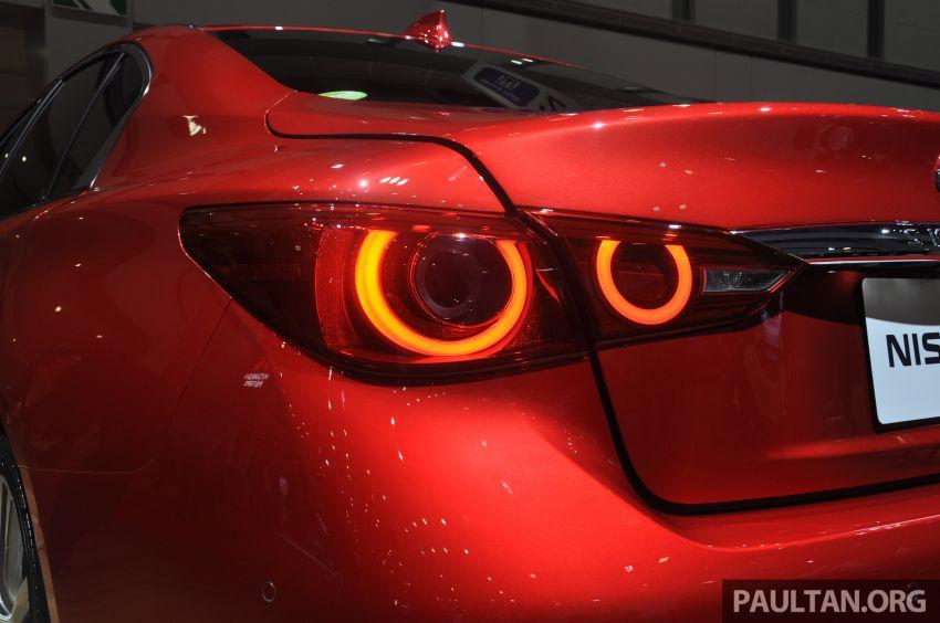 Tokyo 2019: Nissan Skyline GT V37 Hybrid <em>facelift</em> 2019 – 'R35 4-Pintu', 3.5L V6 hibrid berkuasa 306 PS/350 Nm Image #1035841
