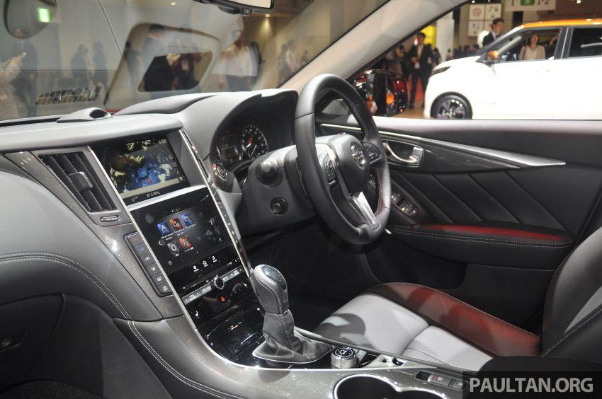 Tokyo 2019: Nissan Skyline GT V37 Hybrid <em>facelift</em> 2019 – 'R35 4-Pintu', 3.5L V6 hibrid berkuasa 306 PS/350 Nm Image #1035849