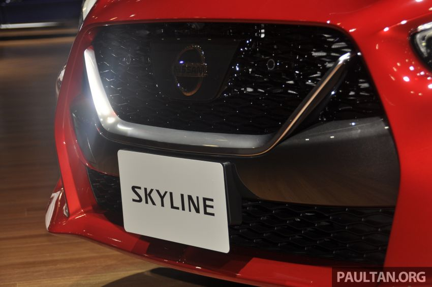 Tokyo 2019: Nissan Skyline GT V37 Hybrid <em>facelift</em> 2019 – 'R35 4-Pintu', 3.5L V6 hibrid berkuasa 306 PS/350 Nm Image #1035857