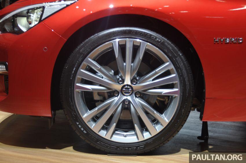 Tokyo 2019: Nissan Skyline GT V37 Hybrid <em>facelift</em> 2019 – 'R35 4-Pintu', 3.5L V6 hibrid berkuasa 306 PS/350 Nm Image #1035859