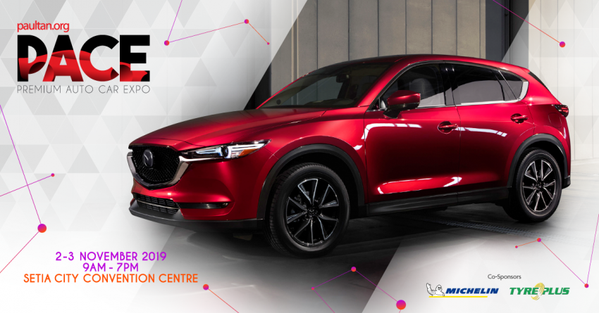 <em>paultan.org</em> PACE 2019 this November – Mazda signs on; enjoy vouchers worth RM2,450 for new cars! Image #1028845