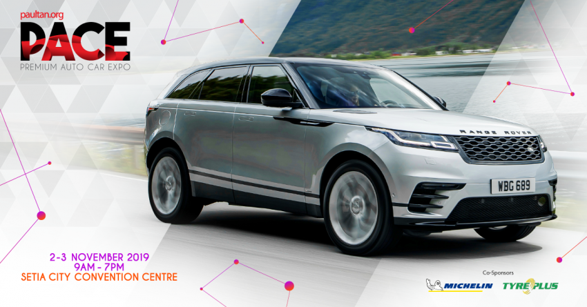 PACE 2019: Range Rover Velar from RM538k with free auto-deploy steps, CarPlay, Android Auto worth RM23k Image #1032157