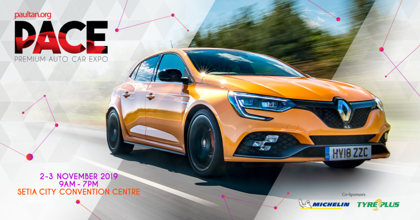 PACE 2019 – Get the new Renault Megane RS 280 Cup MT or EDC with up to RM15,000 overtrade value! Image #1030713