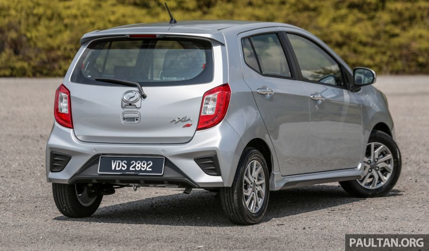 GALLERY: 2019 Perodua Axia – Style and AV in detail Image #1027632