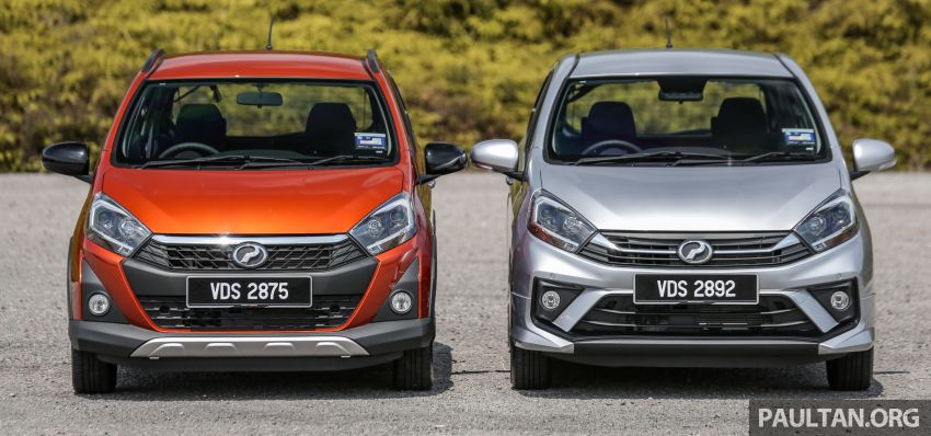 GALLERY: 2019 Perodua Axia – Style and AV in detail Image #1027616