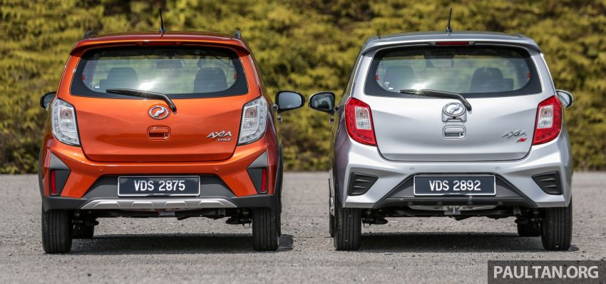 GALLERY: 2019 Perodua Axia – Style and AV in detail Image #1027619