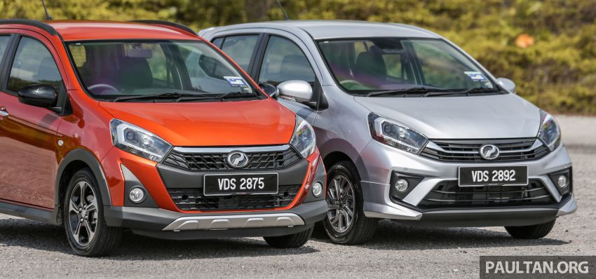 GALLERY: 2019 Perodua Axia – Style and AV in detail Image #1027620