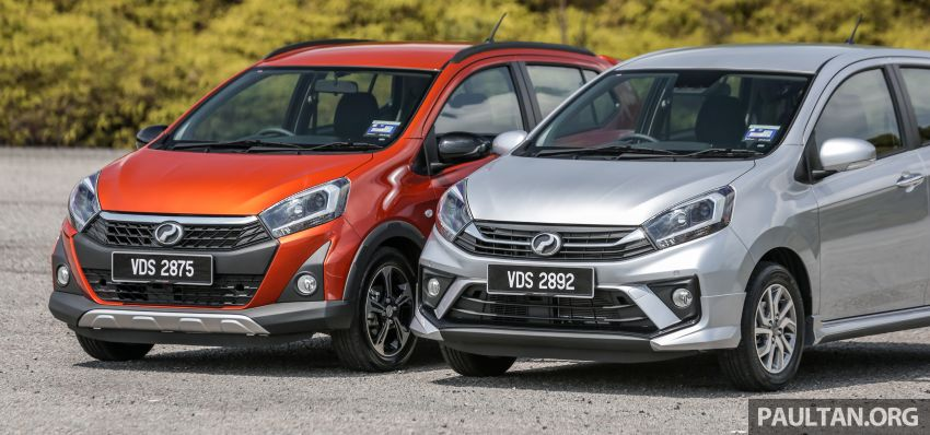 GALLERY: 2019 Perodua Axia – Style and AV in detail Image #1027622
