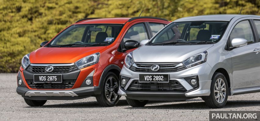 GALLERY: 2019 Perodua Axia – Style and AV in detail Image #1027623
