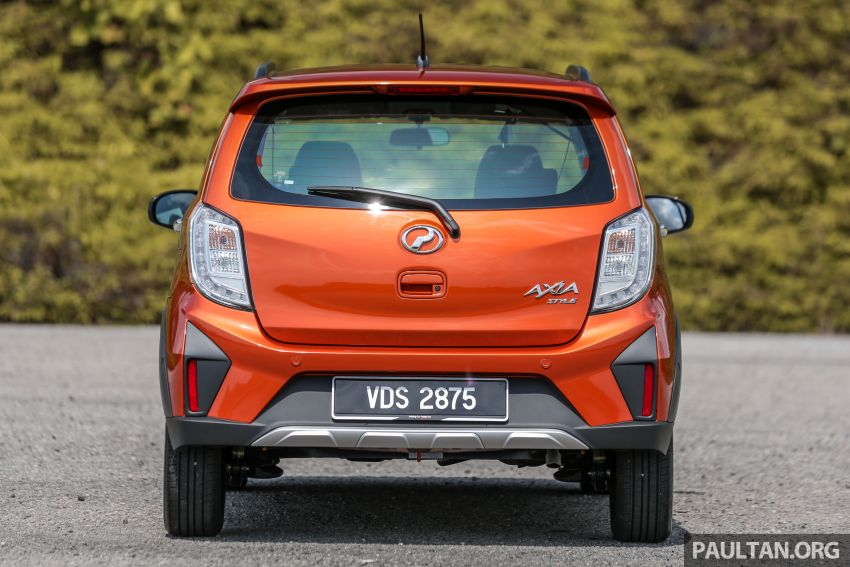 GALLERY: 2019 Perodua Axia – Style and AV in detail Image #1027780