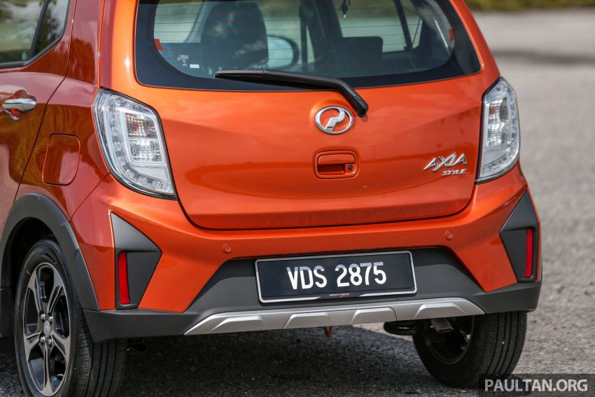 GALLERY: 2019 Perodua Axia – Style and AV in detail Image #1027801