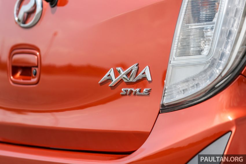 GALLERY: 2019 Perodua Axia – Style and AV in detail Image #1027808