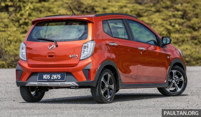 GALLERY: 2019 Perodua Axia – Style and AV in detail Image #1027768