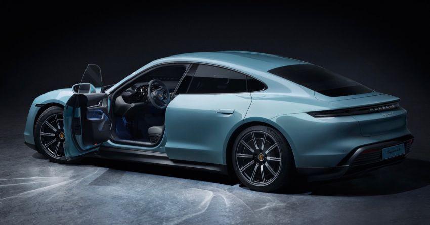 Porsche Taycan 4S – 571 PS, 463 km range, 250 km/h Image #1030083