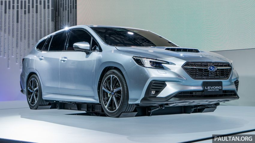 Tokyo 2019: Subaru Levorg Prototype officially debuts with new 1.8 litre turbocharged boxer-four engine Image #1034387