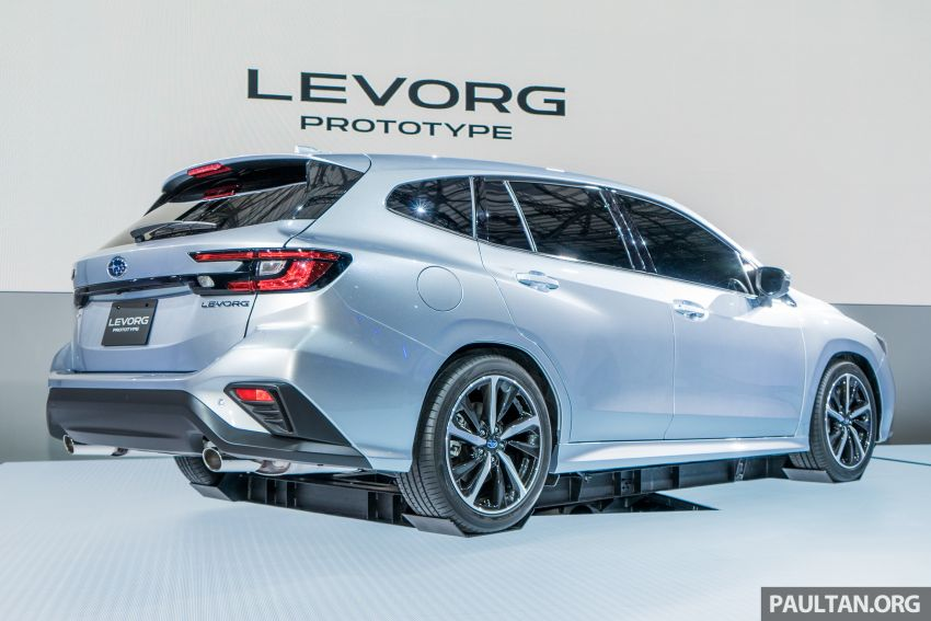 Tokyo 2019: Subaru Levorg Prototype officially debuts with new 1.8 litre turbocharged boxer-four engine Image #1034388