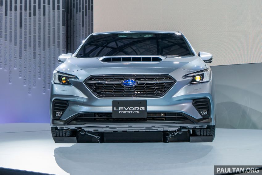 Tokyo 2019: Subaru Levorg Prototype officially debuts with new 1.8 litre turbocharged boxer-four engine Image #1034389