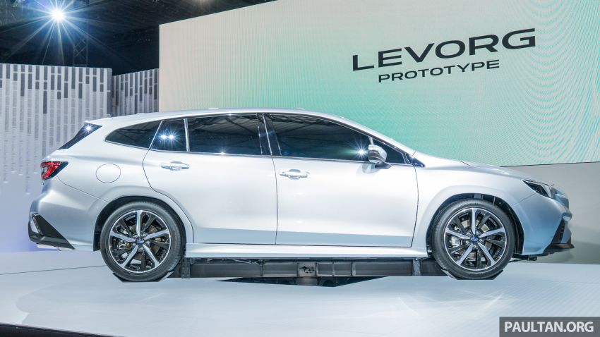 Tokyo 2019: Subaru Levorg Prototype officially debuts with new 1.8 litre turbocharged boxer-four engine Image #1034391