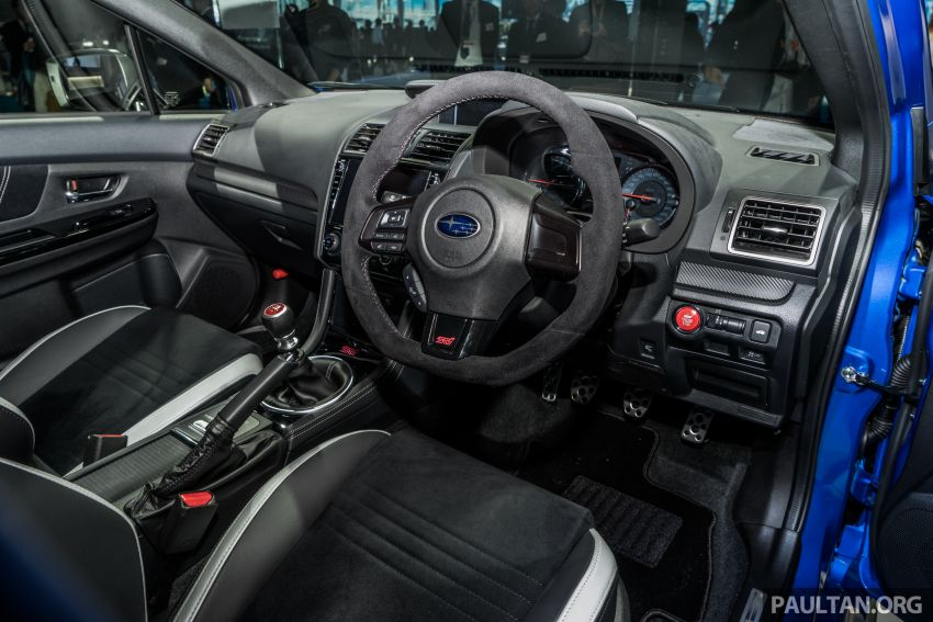 Tokyo 2019: Subaru WRX STI EJ20 Final Edition on display – limited to 555 units; 308 PS and 422 Nm Image #1036329