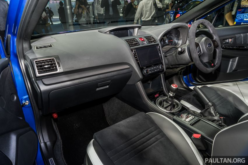 Tokyo 2019: Subaru WRX STI EJ20 Final Edition on display – limited to 555 units; 308 PS and 422 Nm Image #1036330