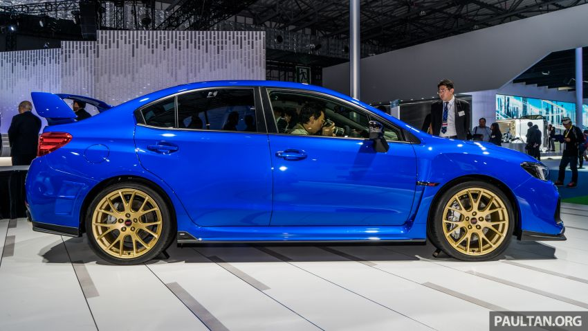 Tokyo 2019: Subaru WRX STI EJ20 Final Edition on display – limited to 555 units; 308 PS and 422 Nm Image #1036320