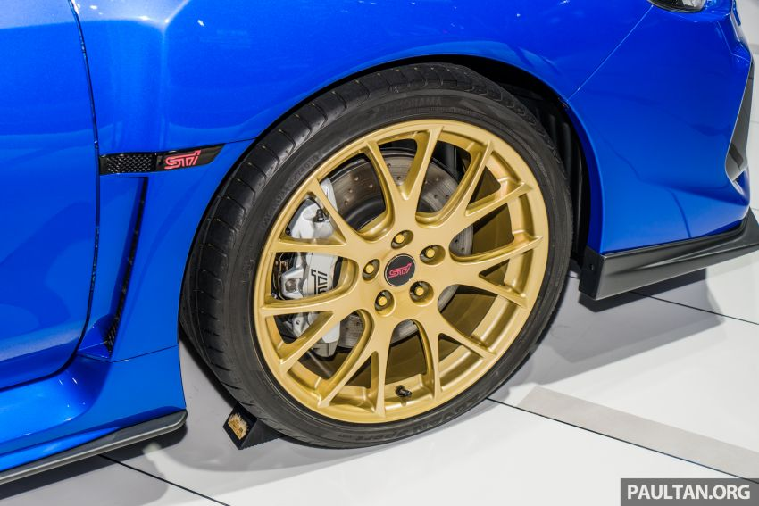 Tokyo 2019: Subaru WRX STI EJ20 Final Edition on display – limited to 555 units; 308 PS and 422 Nm Image #1036322