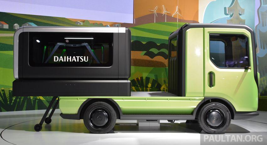Tokyo 2019: Daihatsu IcoIco, TsumuTsumu, WaiWai, WakuWaku; cutesy 'warm future lifestyle' concepts Image #1036610