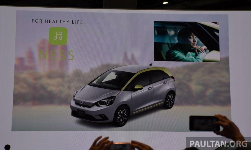 Tokyo 2019: Honda Jazz – 4th-gen debuts, five variants, two-motor i-MMD hybrid system, Sensing Image #1034030