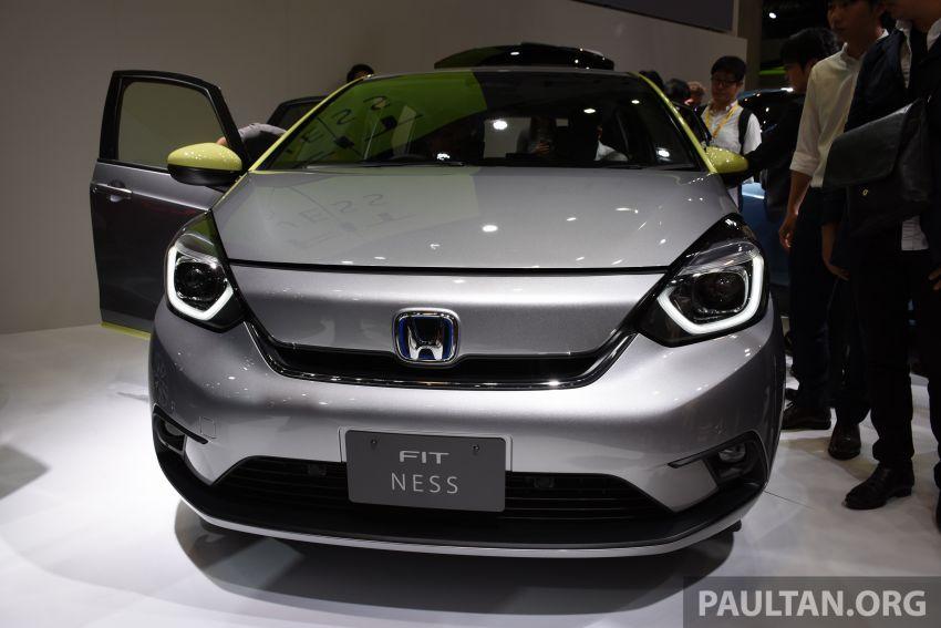 Tokyo 2019: Honda Jazz – 4th-gen debuts, five variants, two-motor i-MMD hybrid system, Sensing Image #1034032