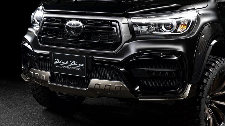 Kit Toyota Hilux Wald Black Bison kini di Malaysia Image #1032372
