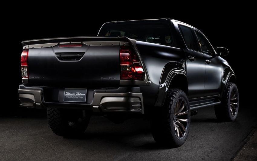 Kit Toyota Hilux Wald Black Bison kini di Malaysia Image #1032377