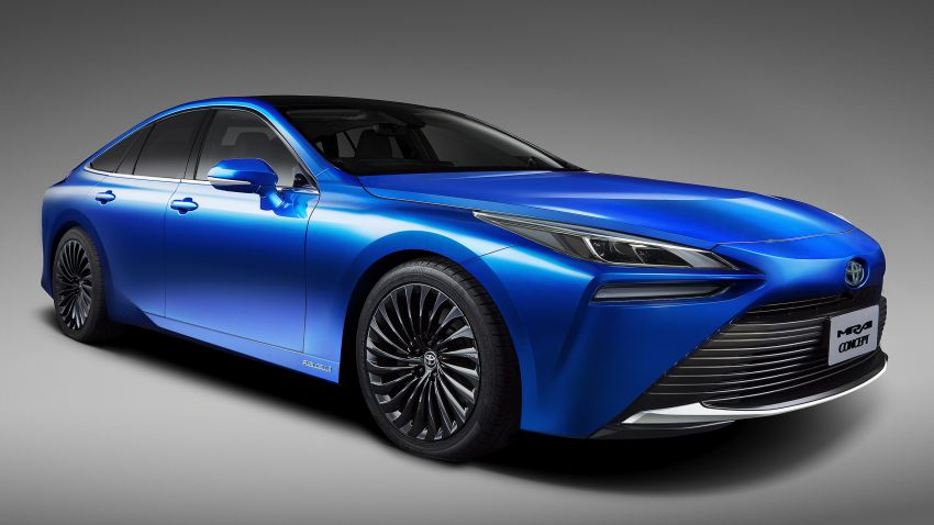 Toyota Mirai Concept – second-gen hydrogen vehicle to become RWD luxury sedan with 30% greater range Image #1029055
