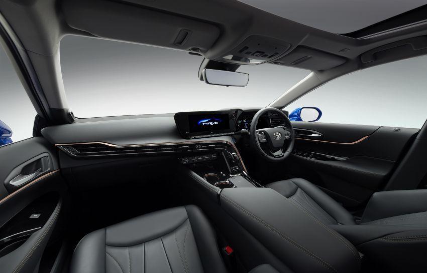 Toyota Mirai Concept – generasi kedua model janaan hidrogen, RWD mewah, jarak perjalanan naik 30% Image #1029208