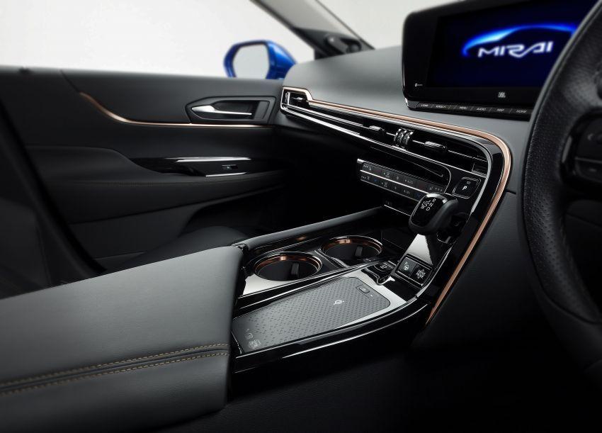 Toyota Mirai Concept – generasi kedua model janaan hidrogen, RWD mewah, jarak perjalanan naik 30% Image #1029209