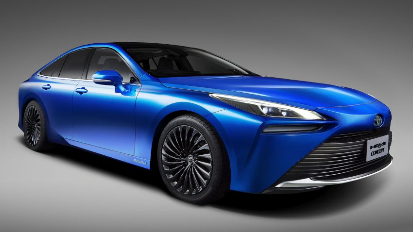 Toyota Mirai Concept – second-gen hydrogen vehicle to become RWD luxury sedan with 30% greater range Image #1029056