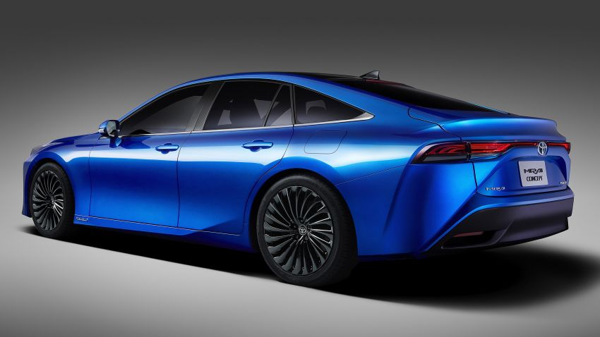 Toyota Mirai Concept – second-gen hydrogen vehicle to become RWD luxury sedan with 30% greater range Image #1029060